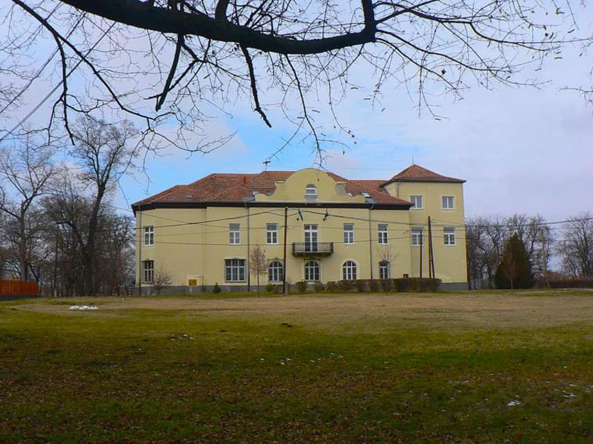 Az egykori Herédy-kastély