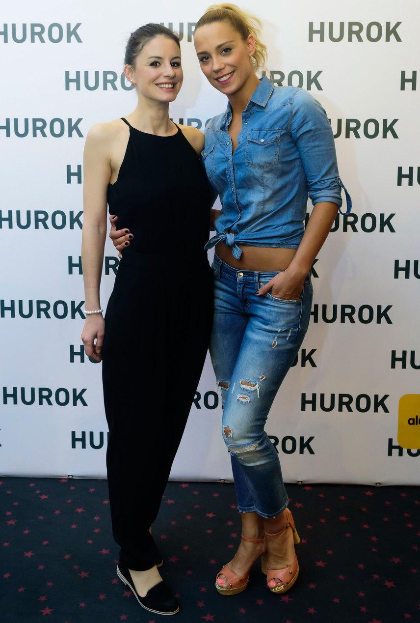 Szabó Erika és Kiss Ramóna egyidősek, a sorozatba még mindketten nagyon fiatalon kerültek be, és - ahogy a fotó is mutatja - a mai napig jó barátnők.