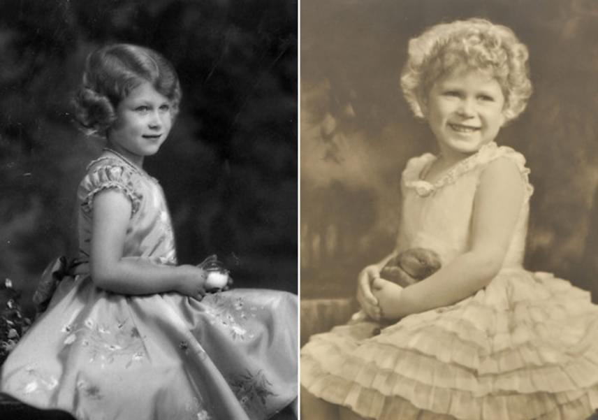 Már kislányként is látszott, hogy igazán elegáns kis hölgy lesz Erzsébetből. Nem véletlenül tartják máig az egyik legstílusosabb uralkodónak.