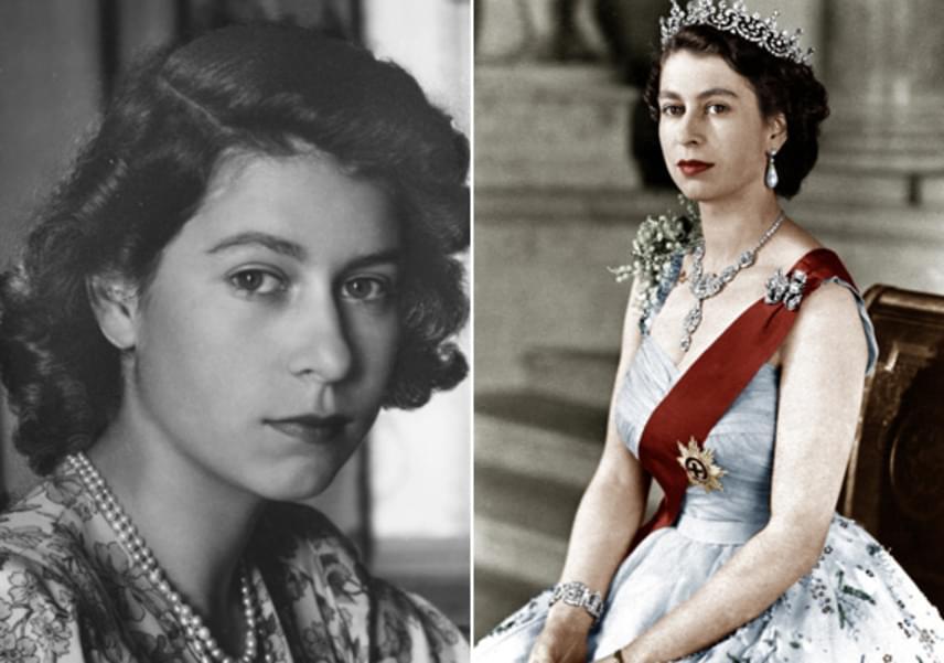 Édesapja, VI. György korai halála után 1953. június 2-án koronázták királynővé az akkor még csak 25 éves Erzsébetet.