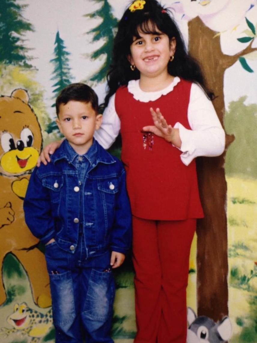 Gigi fogatlan fotóján is szerepel az öccse, erről a képről már mi is írtunk korábban.