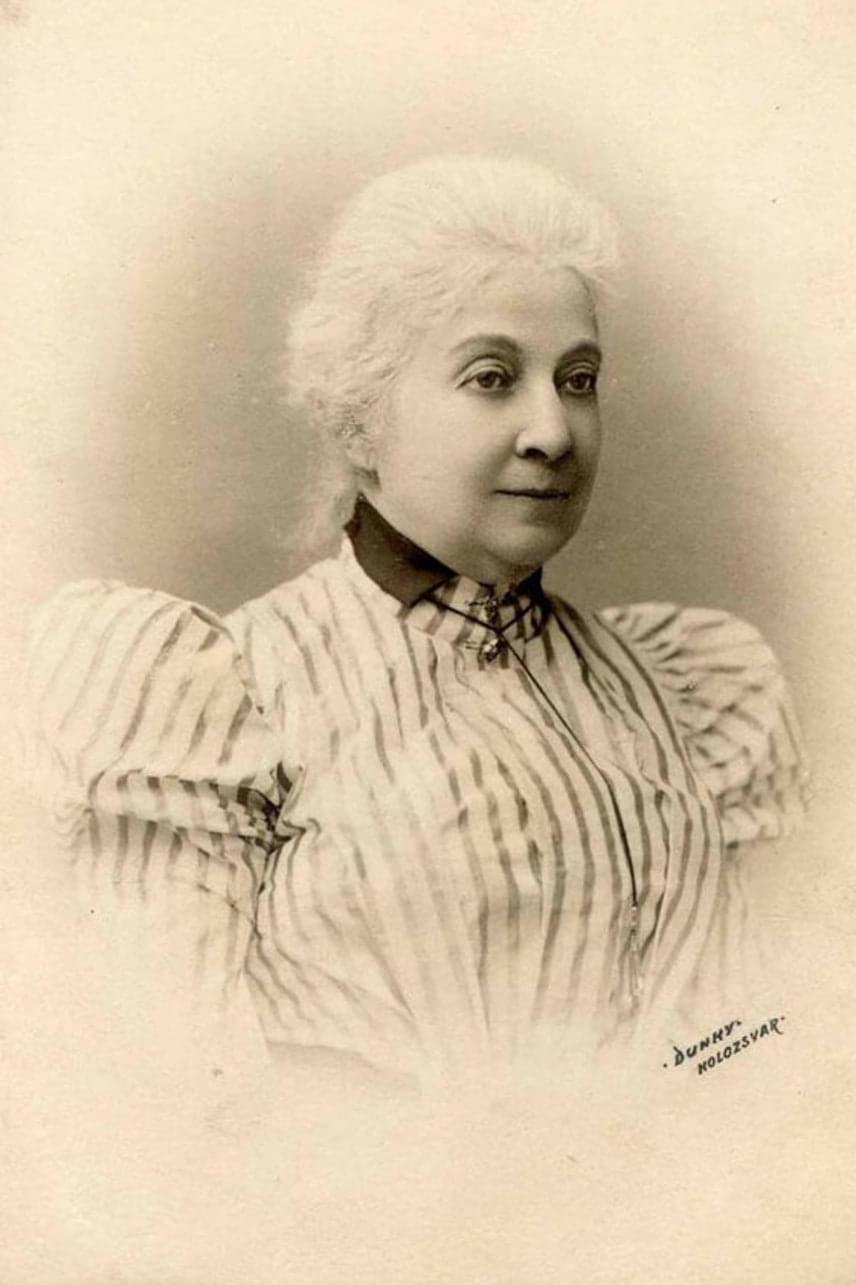Az idős Prielle Kornélia