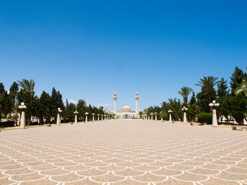 Monasztir: Habib Burghiba mauzóleuma