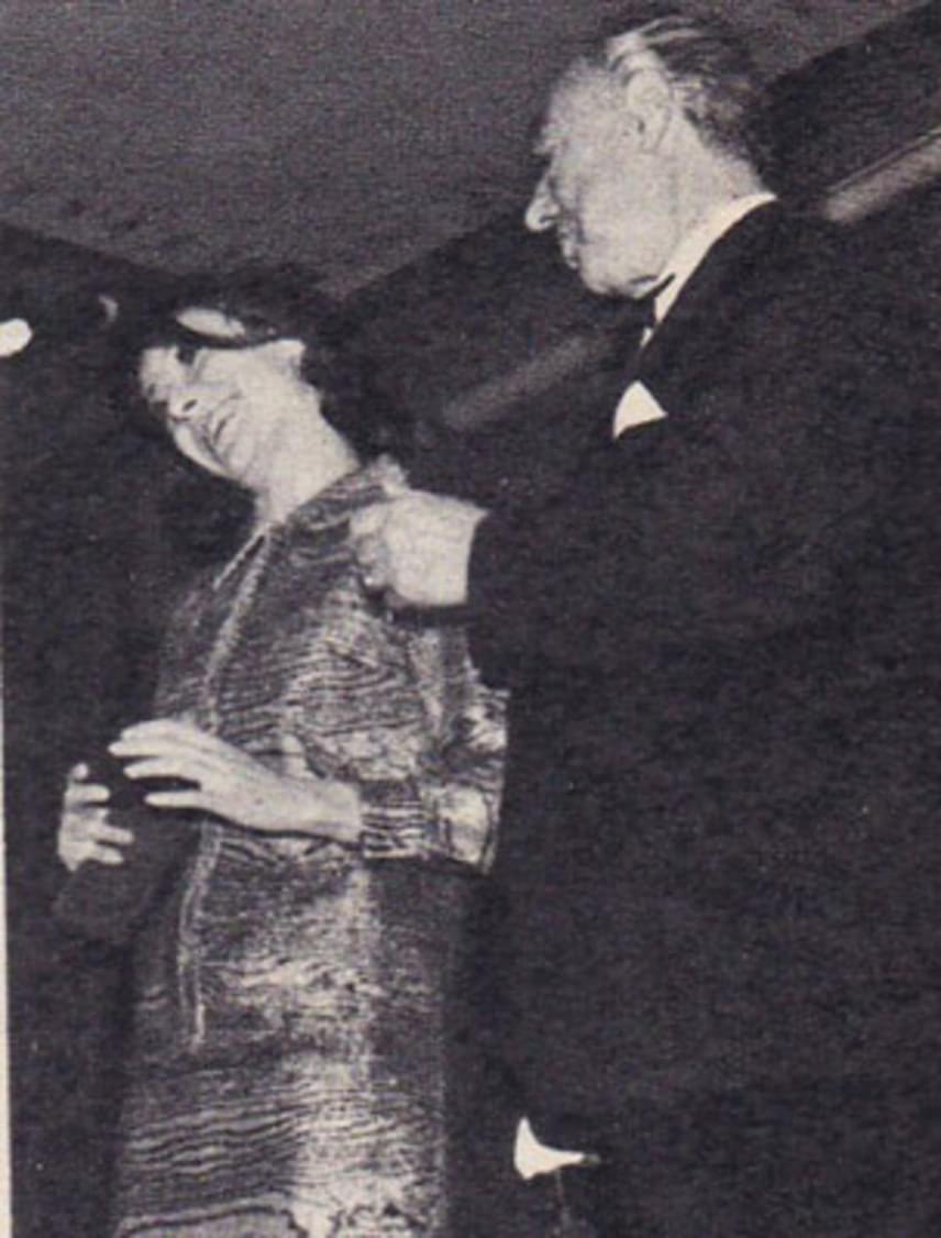 Bilicsi Mária és édesapja, Bilicsi Tivadar