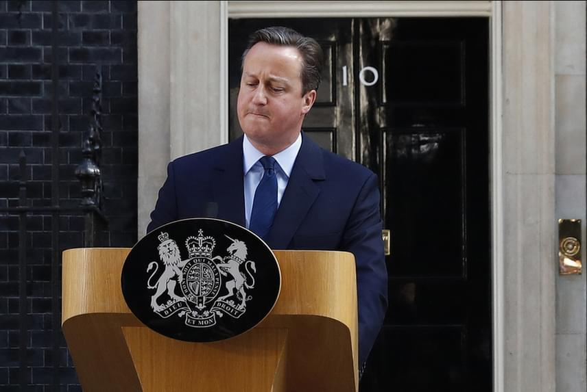 David Cameron lemond tisztségéről