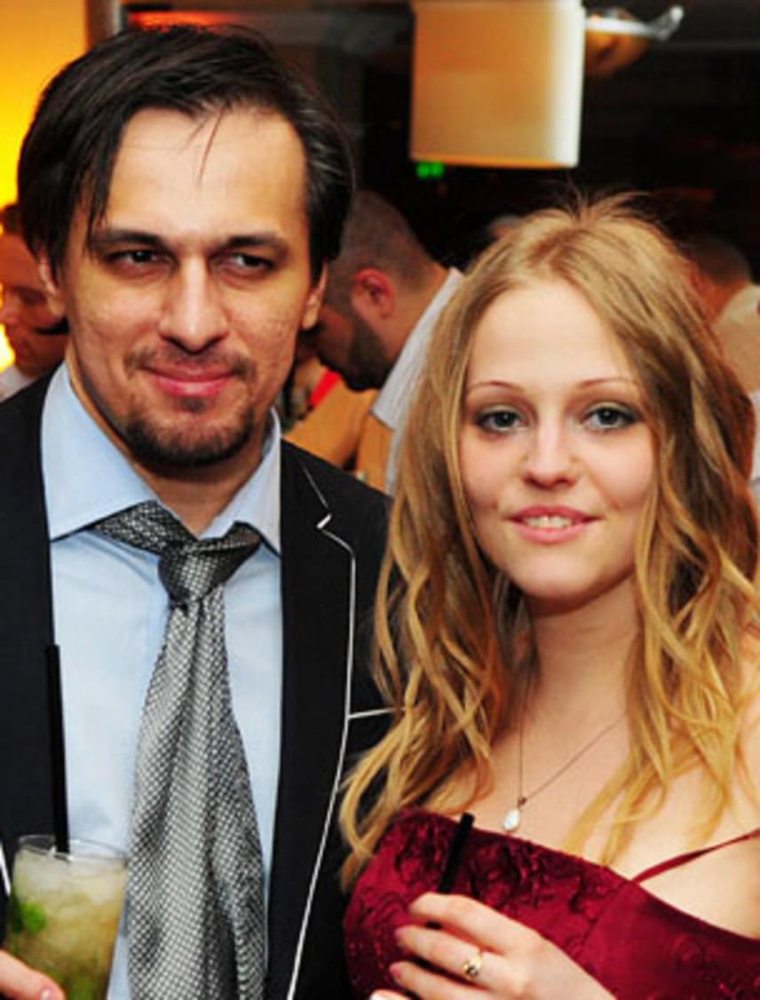Tabáni István és Csilla a 2011-es Fonogram-díjátadón