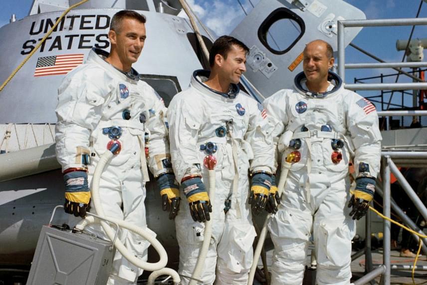 Az Apollo-10 legénysége
