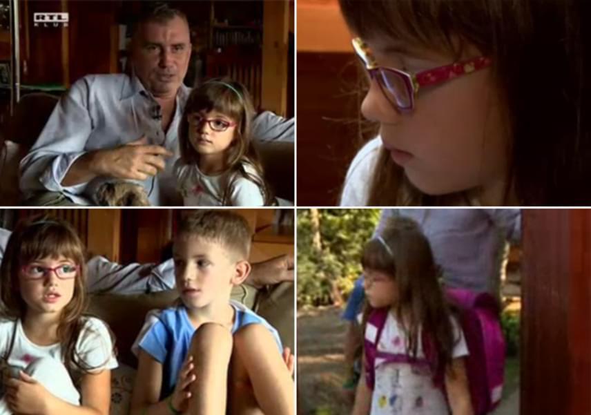 Kaszás Géza fia, Nimród idén lett másodikos, húga, Lilla pedig elsős, mindketten ugyanarra a helyre járnak majd. A kislány a Fókusz kameráinak elmondta, leginkább attól tart, hogy nem fog jól tanulni.
