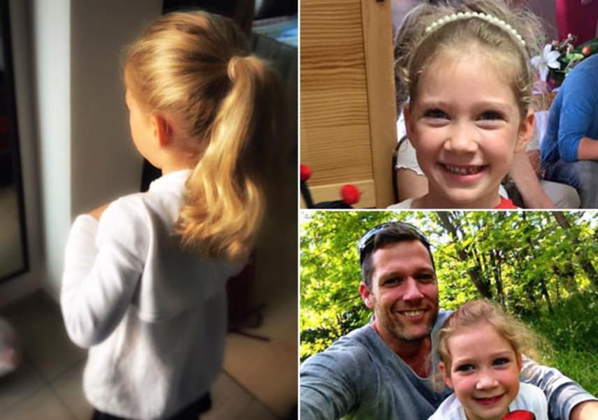 A büszke apuka, Váczi Gergő boldogan osztotta meg a rajongókkal, hogy nagylánya, Dóra immár iskolás lett. Másik kislánya, Blanka majd csak két év múlva kezdi az első osztályt.
