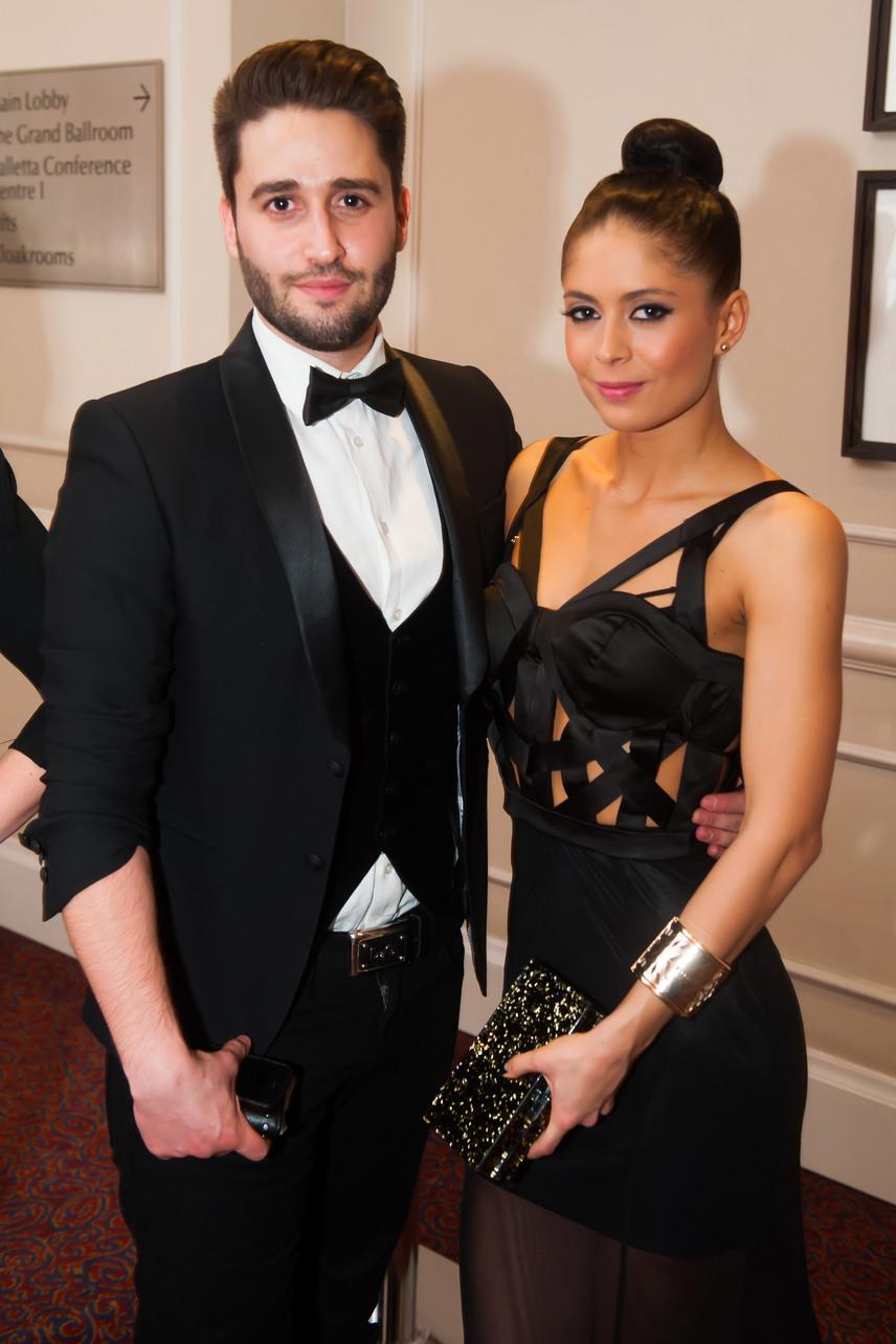 Király Viktor és Bea a 2013-as Story-gálán