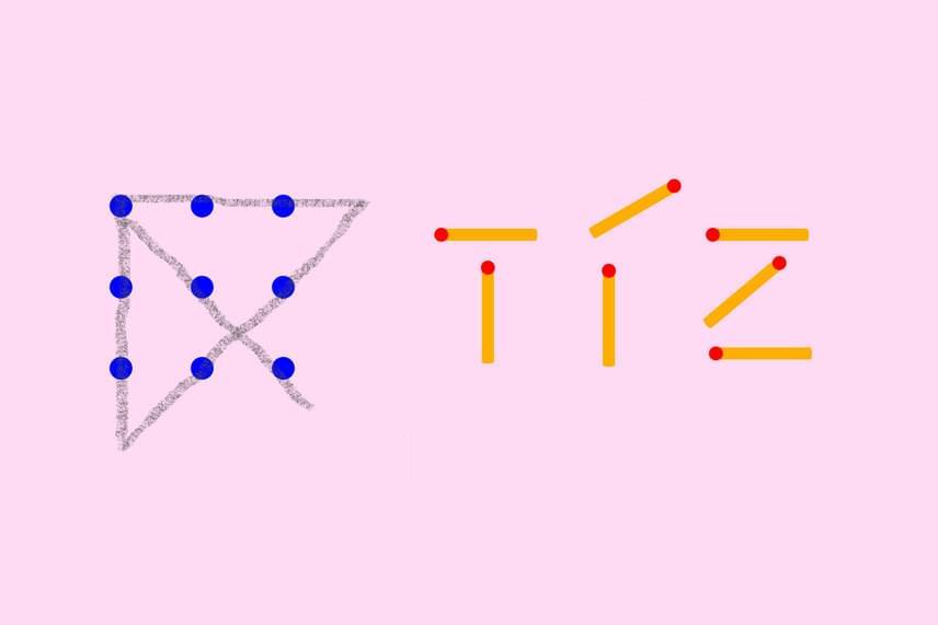 Megoldások                         Az első és a második feladat megoldását a képen láthatod. A harmadik feladatban ha a cseresznye 9-et, a körte 12-t ér, a kérdőjel helyére a 7-es szám kerül.