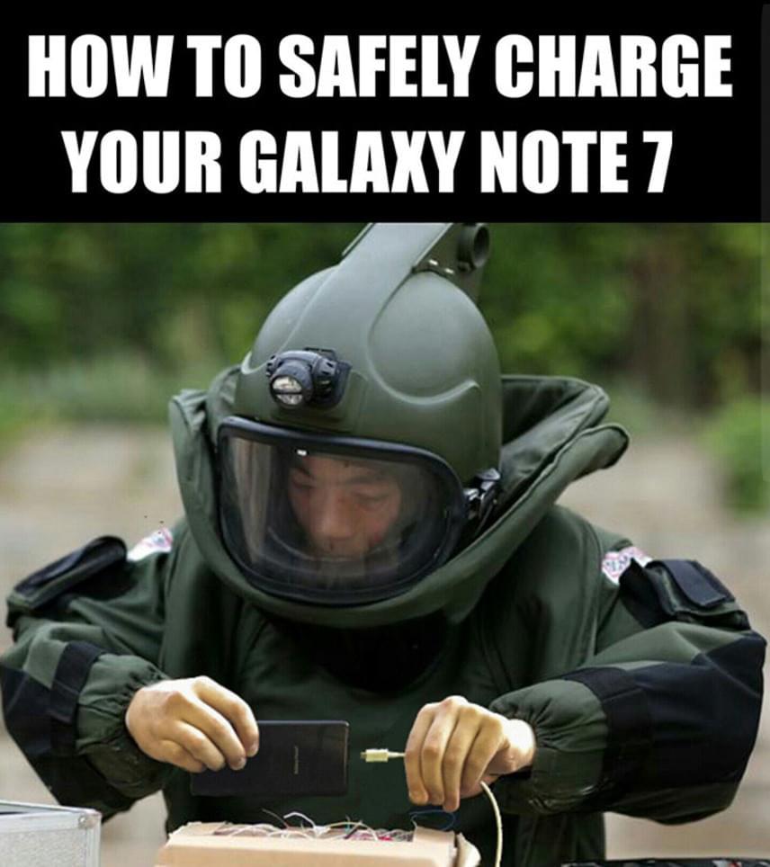 """""""Hogyan töltsd fel biztonságosan a Galaxy Note 7-edet?"""""""