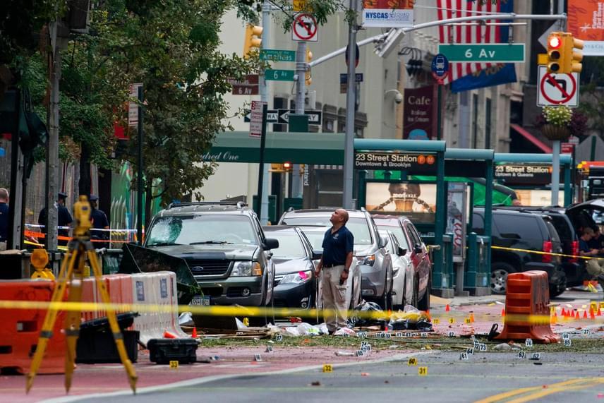 A New York-i robbantás helyszíne