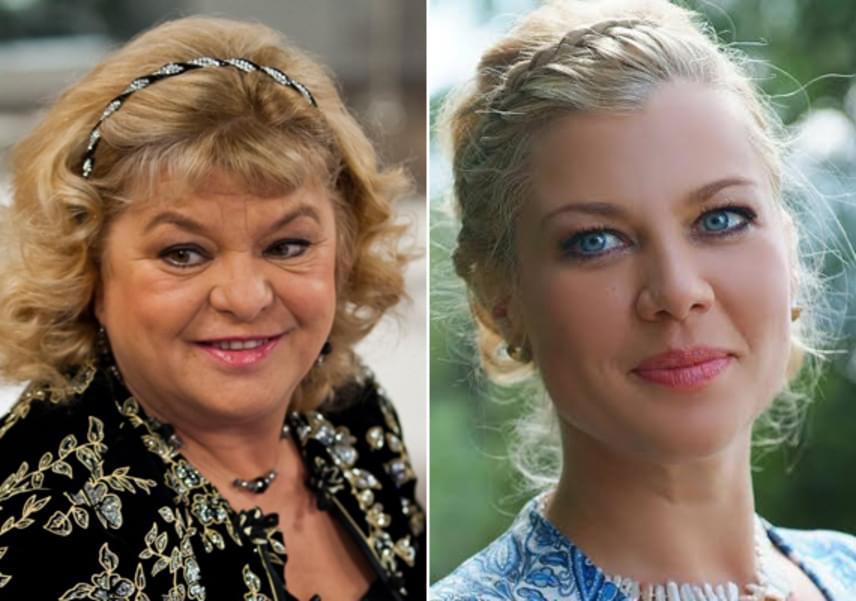 Hídvégi Krisztina le sem tagadhatná, ki az édesanyja. A gyönyörű, szőke hölgy arcvonásai és mosolya is megegyezik Oszvald Marikáéval, csupán szeme színét örökölte ismert édesapjától, Hídvégi Miklós táncos-komikustól, akitől a színésznő 2008-ban vált el.