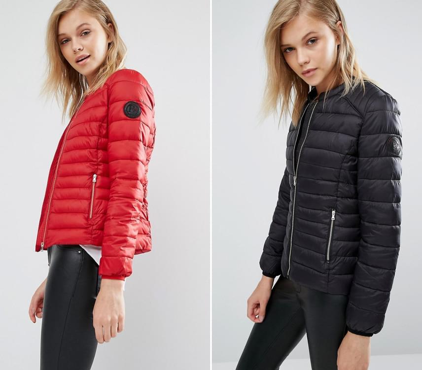 Idén ősszel nagyon trendi lesz ez a sportos fazon, ám sajnos a hurkás kabát nem csal az előnyödre. A férfiak számára inkább Michelin-babát idéző kabát egészen előnytelenül képes formálni az alakot.