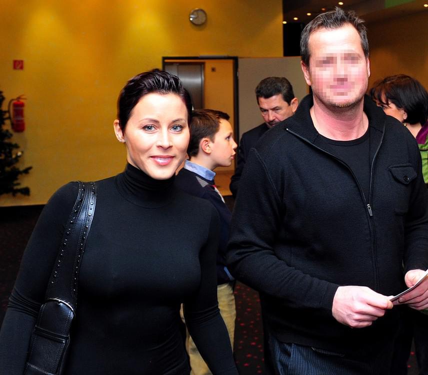 Tornócky Anita és Béla 2010-ben az Üvegtigris 3 díszbemutatóján. Az egykori műsorvezető 12 együtt töltött év, és hét év házasság után vált el. Gyermekük nem született. Volt férje egyébként a hírek szerint Árpa Attila volt feleségével alkot egy párt.