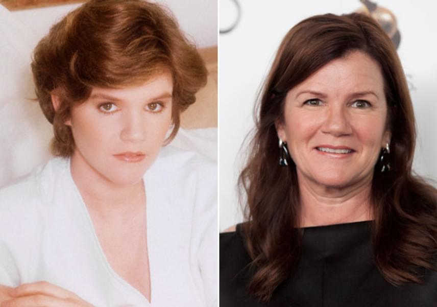 Mare Winningham régen és ma: a két kép készülte között 33 év telt el, mégis ugyanolyan bájos a színésznő arca, mint akkoriban.