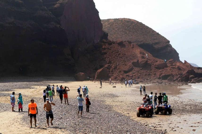 Az Agadir városától délre bekövetkező katasztrófában a természet megint megmutatta elsöprő erejét, az erózió által keletkezett természeti csoda így végleg a hullámverés áldozatává vált. Ez óriási és kompenzálhatatlan törést jelenthet az egyébként is csökkenő népszerűségű Marokkó idegenforgalmában.