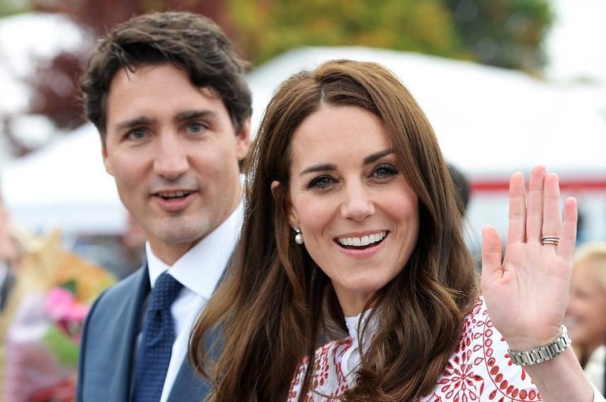 Kanada miniszterelnöke, Justin Trudeau fogadta őket a városban, majd ő és felesége kísérték tovább a hercegi párt az első jótékonysági rendezvényükre.