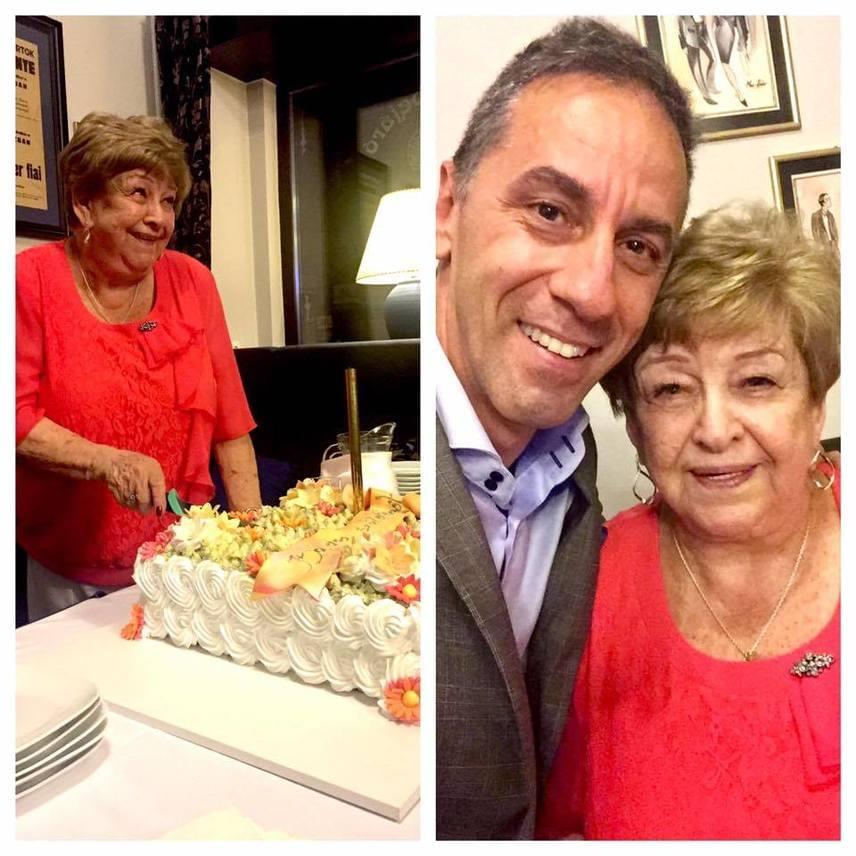 """""""Szinte hihetetlen, de igaz. A csodálatos Pásztor Erzsi ma 80 éves"""" - írta Facebook-oldalán Csonka András, aki nagy rajongója a színésznőnek."""