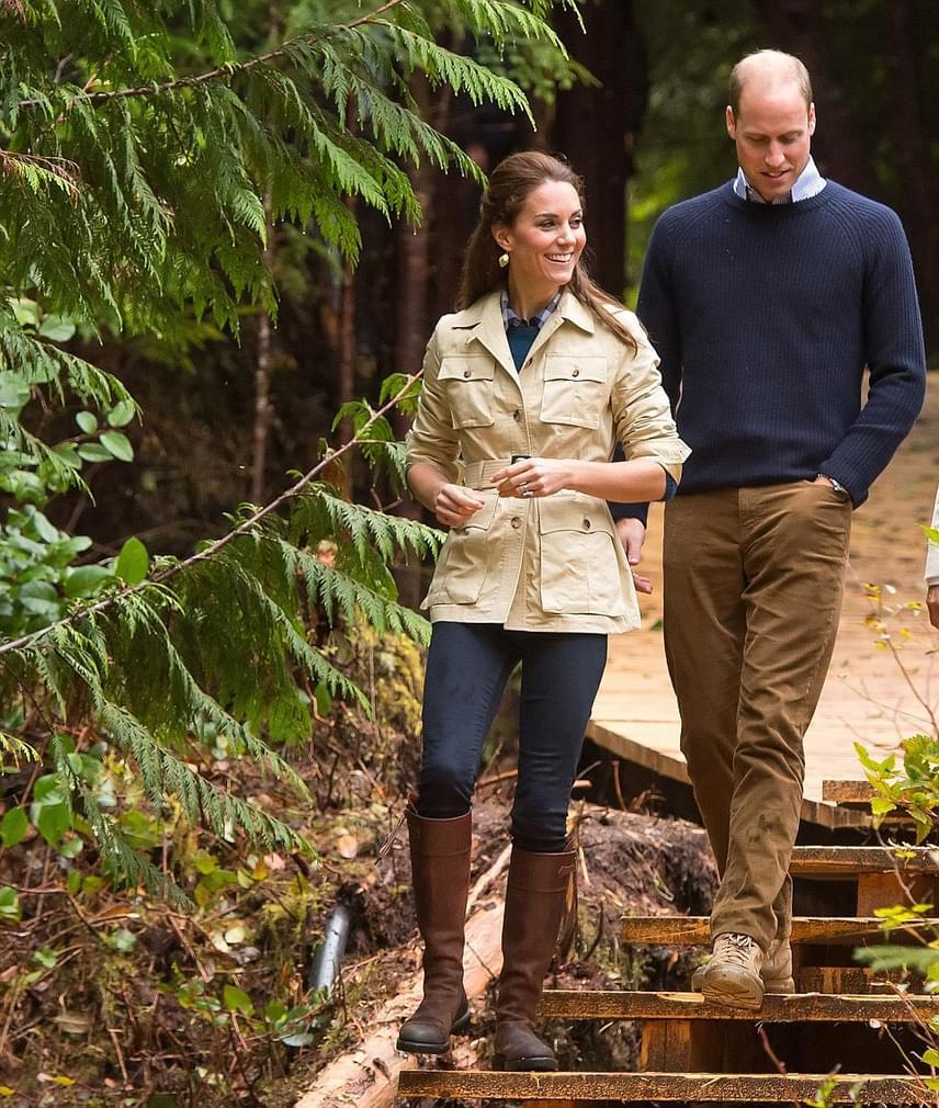Katalin nagy természetjáró hírében áll, így egyértelmű volt, hogy a szervezők egy kisebb túrára is meginvitálják a hercegnét és férjét.