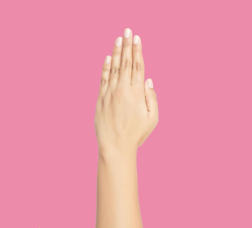 Tartsd a kezed a fény felé úgy, hogy az ujjaidat összezárod. Ha a gyűrűsujjad és a középső ujjad szorosan egymáshoz simul, és nincs köztük hézag, akkor van benned művészi hajlam. Ha van rés az ujjaid közt, akkor nem a művészetben, hanem másban lehetsz jó.