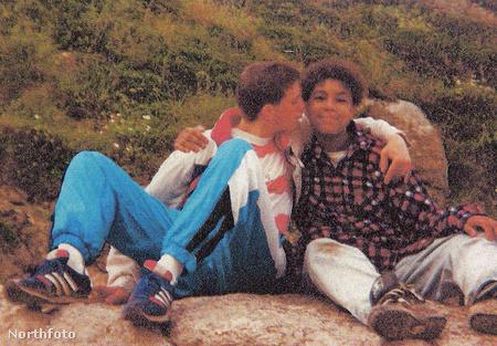 David Bridgley és egy barátja 1990. körül