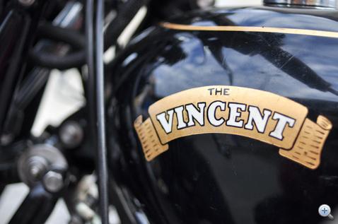 Vince, a gyors. Lefordítva mókás a motor neve