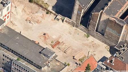 A forgatási helyszín korábbi látképe a GoogleMapsen
