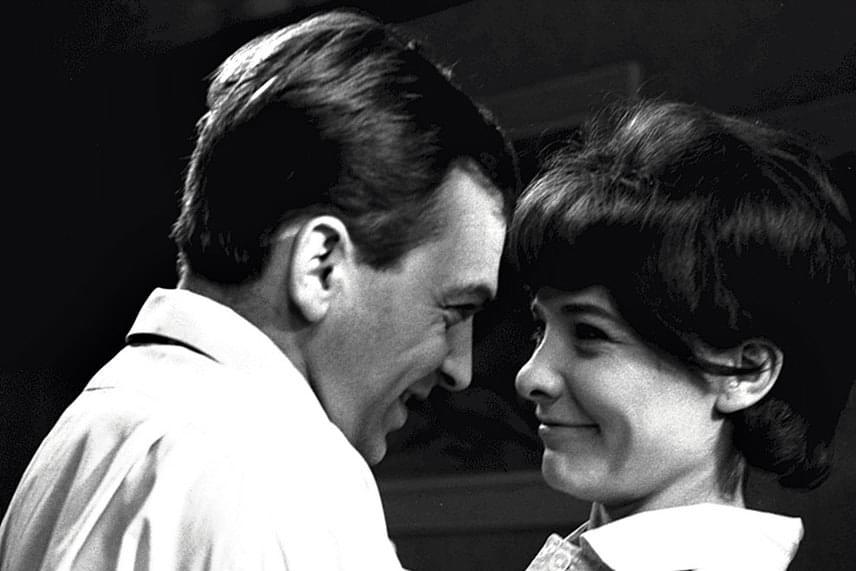 Törőcsik Mari és Bodrogi Gyula 1965-ben