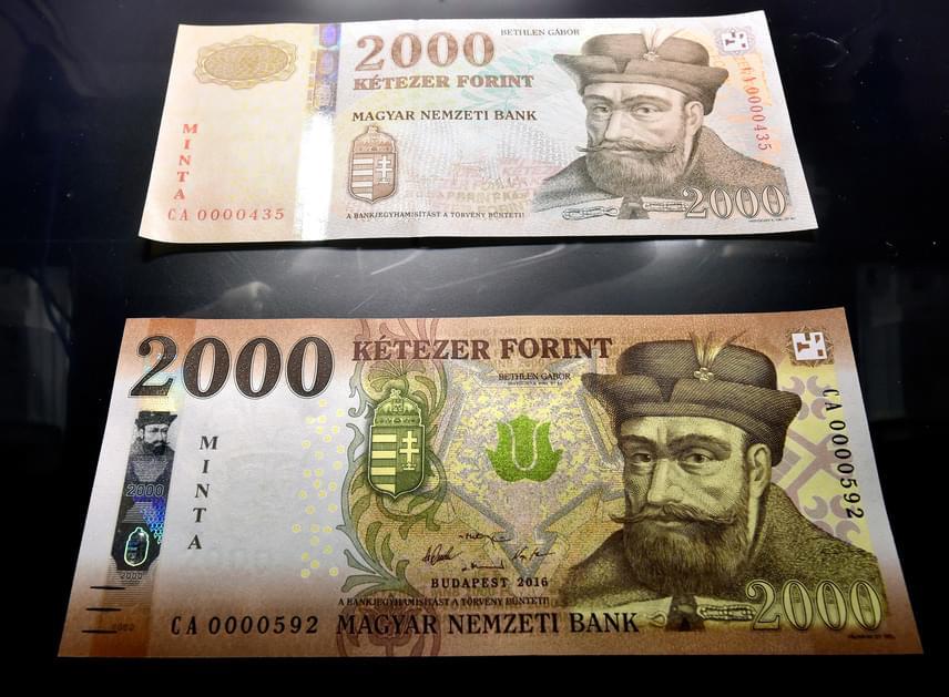 A két címlet grafikai jegyei nem változtak, a megújítás a hamisítás megelőzését szolgálja. Az eddigi cseréknél bevált a viszonylag rövid határidő, a tízezer forintos bankjegyek esetében már az új bankjegyek bonyolítják le a forgalom 82%-át, a húszezer forintosok esetében pedig arányuk meghaladja a 75%-ot - mondta Gerhardt Ferenc.