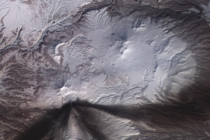 Vulkáni hamu - A kép illusztráció.