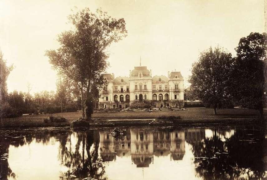 Így nézett ki a Wahrmann-család kastélya