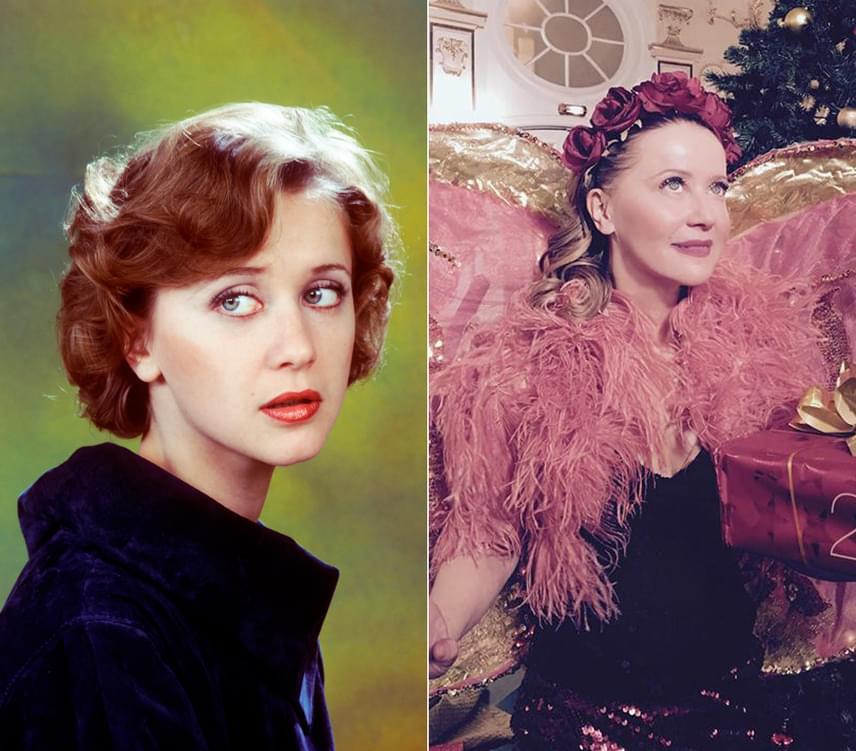 A bal oldali képen Eszenyi Enikő 1984-ben látható, amikor 23 éves volt. Diplomáját egy évvel korábban vette át, első szerepét pedig 21 évesen kapta 1981-ben. A jobb oldali felvétel szilveszter előtt készült róla. A színésznő ma is csodaszép.