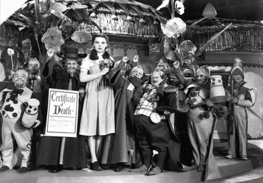 Judy Garland az Óz, a csodák csodájában