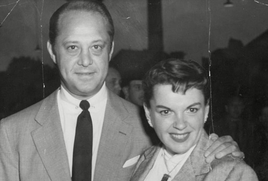 Sidney Luft és Judy Garland 1954-ben