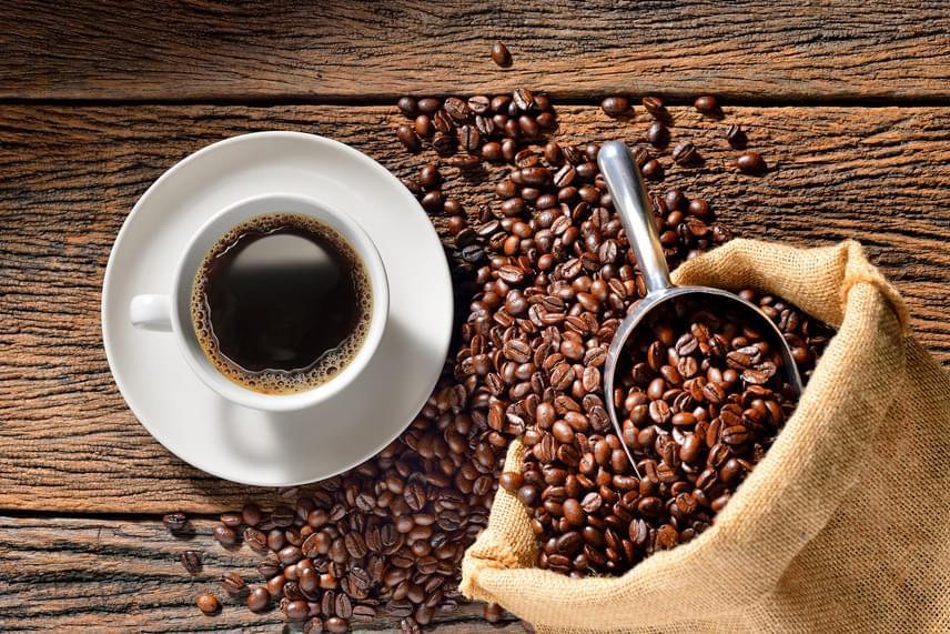 kávé fogyás