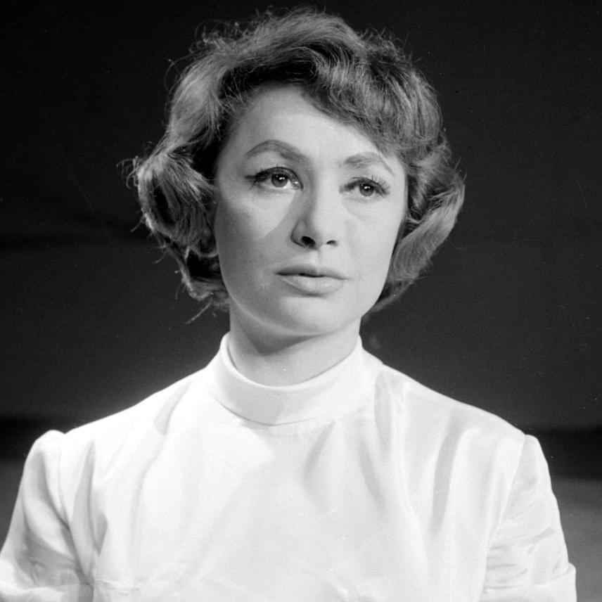 Berek Katalin 1960-ban a Nemzeti Színházban