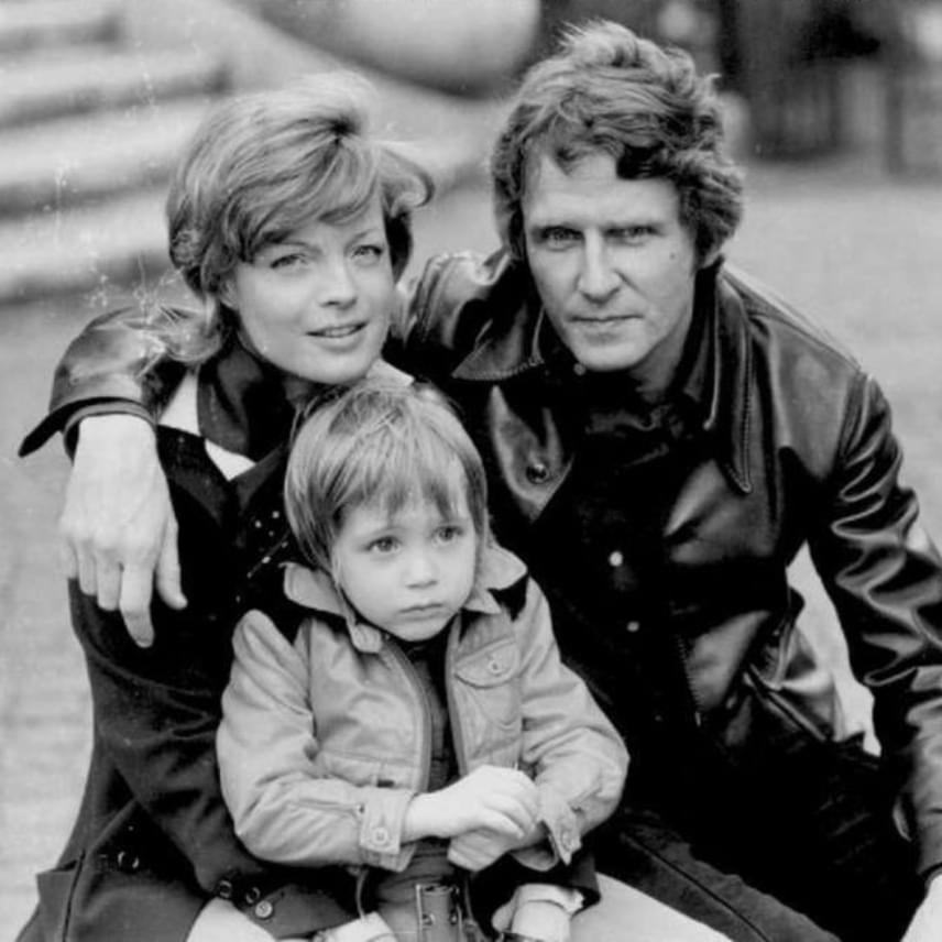 Romy Schneider még a házasságuk évében egy kisfiút szült első férjének, aki a David Christopher nevet kapta szüleitől.