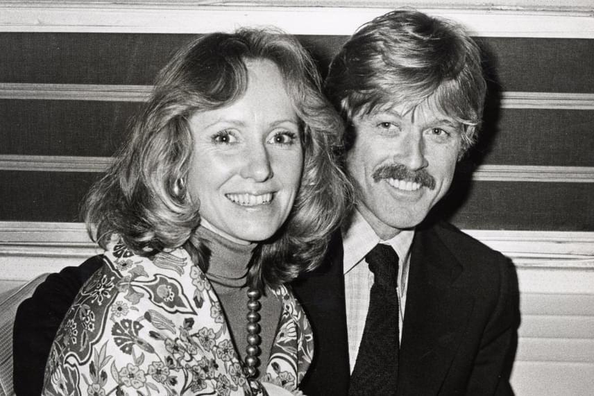 Robert Redford és Lola Van Wagenen