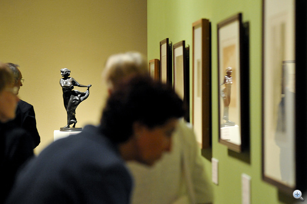 Gustav Klimt festményeiből, grafikáiból  nyílt kiállítás a Szépművészeti Múzeumban