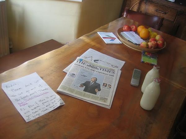 The Times és friss tej várt minden reggel az ajtóm előtt Londonban