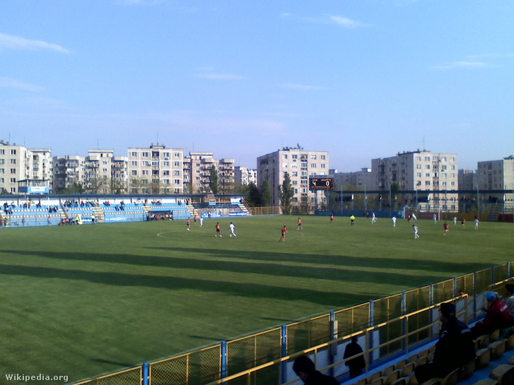 Juventus Bucureşti Stadium during a 24 May 2009 match with AS Fi