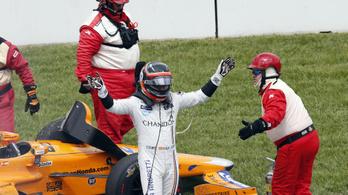 Csak nyert valamit Alonso az Indy 500-on