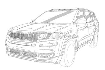 Ez volna az új óriás-Jeep?