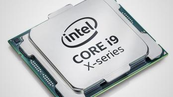 Itt a félmillió forintos Intel Core i9