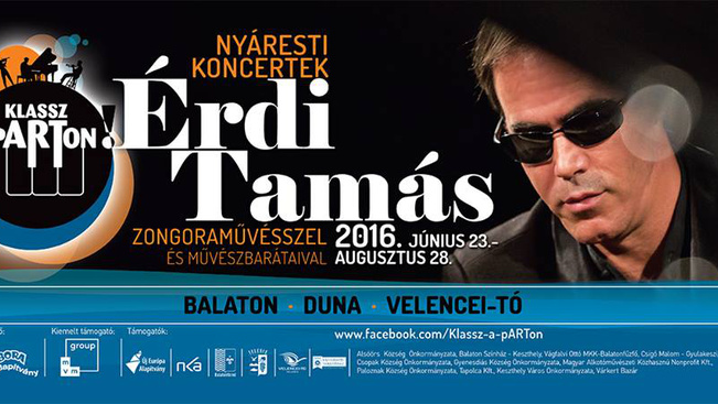 Ingyenes komolyzenei koncertek a Balaton körül