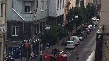 Már két autó is felborult a XIII. kerületben