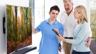 Teszt: Drágán is lehet rossz tévét venni