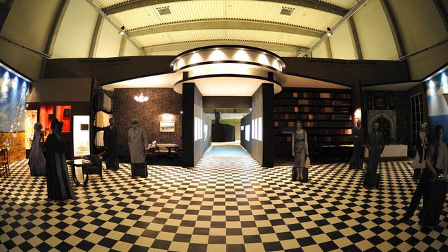 Fordított szobával újult meg a Korda Filmstúdió látogatóközpontja